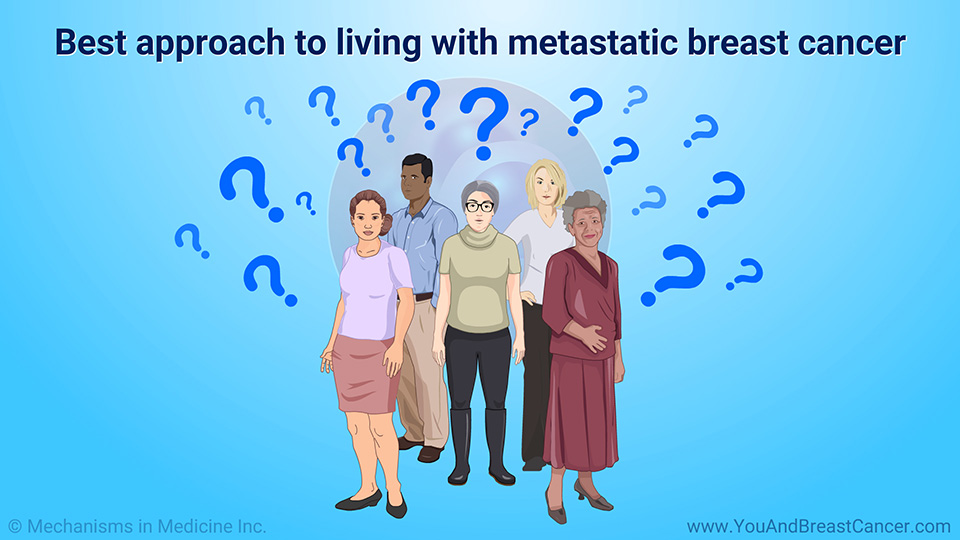 Best approach to living with metastatic breast cancer