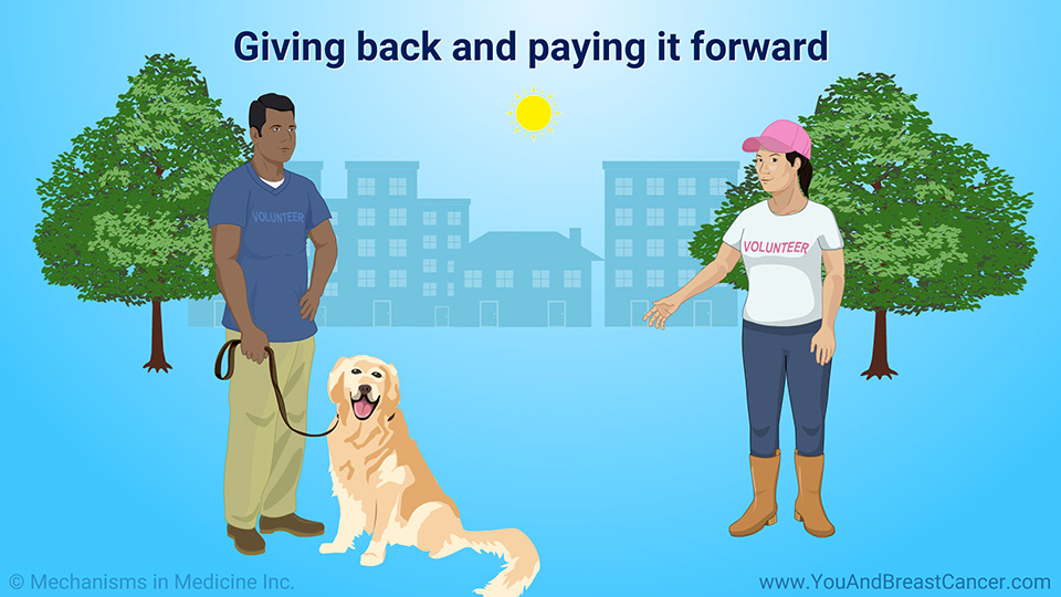 Giving back and paying it forward