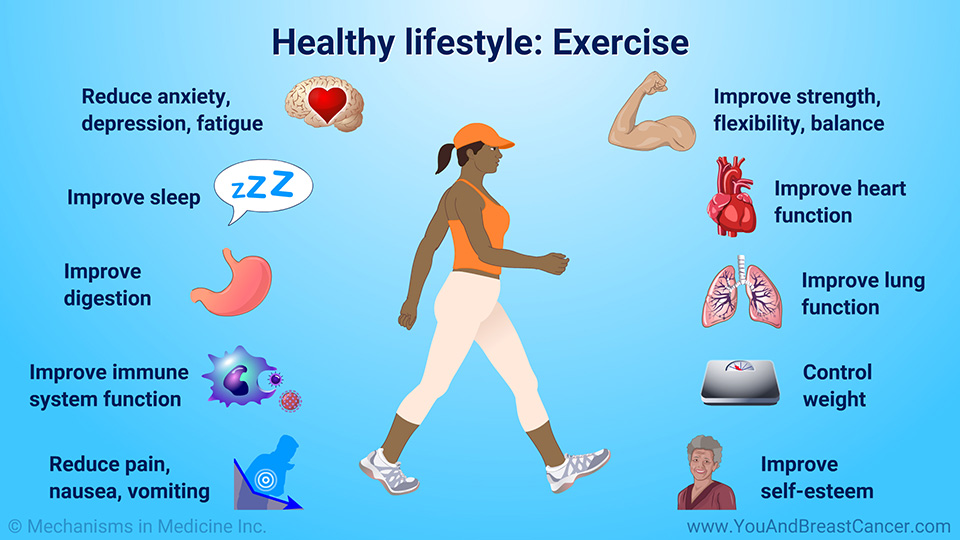 Healthy lifestyle: Exercise