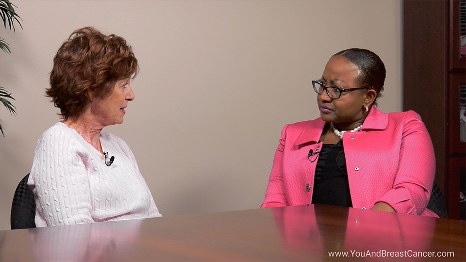 What treatment did you have for your first diagnosis of breast cancer?